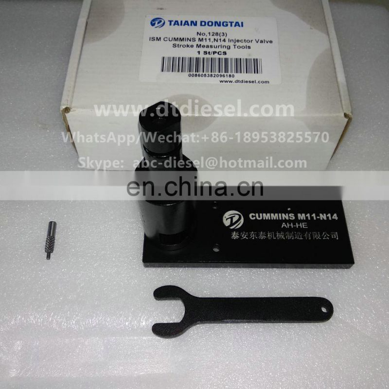 No,128(3) ISM  M11,N14 Injector Valve Stroke Measuring Tools