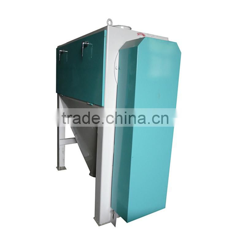 Manufacturer of screw wheat brusher to remove bran ash