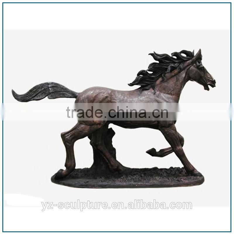 Outdoor Casting Large Size Bronze Horse Sculpture for sale