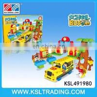 Kids bump and go electric car toy kit with light and music