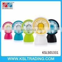 Hot selling electric mini toy fan six color mixs