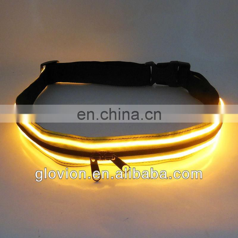 NEW led waist belt working safety waist belt multi pocket belt