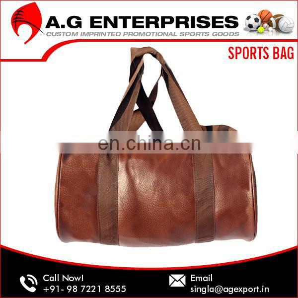 Fashionable Design Lightweight Cheap Men Gym Polyester Sport Bag