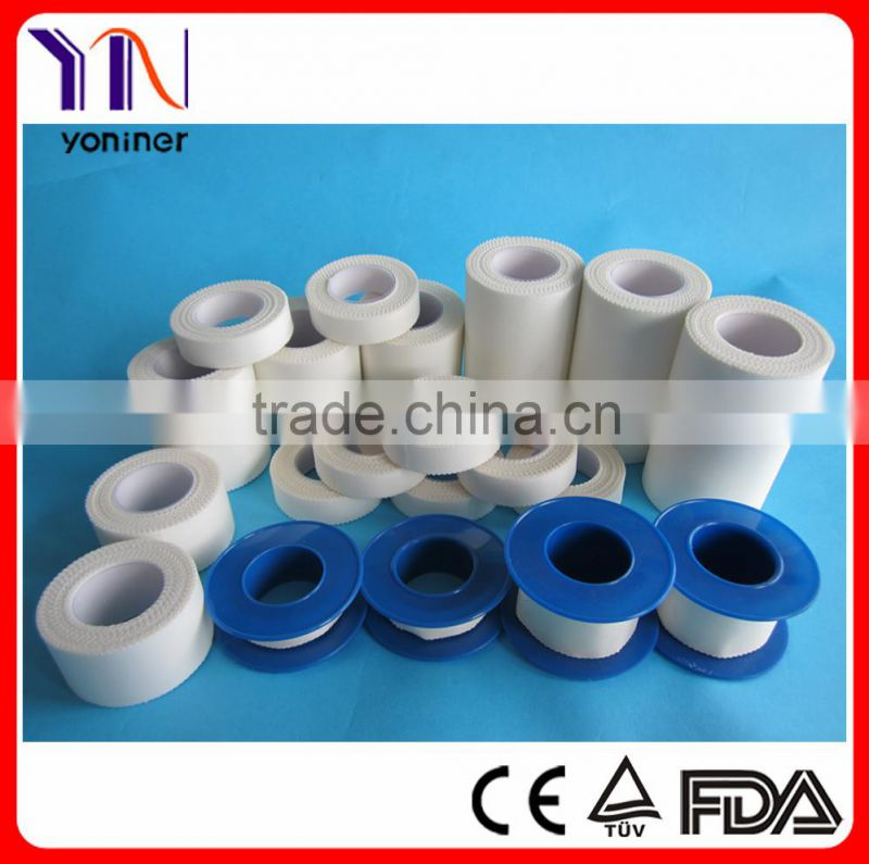 Medical Adhesive Silk Plaster White Tape CE FDA Certificated Manufacturers