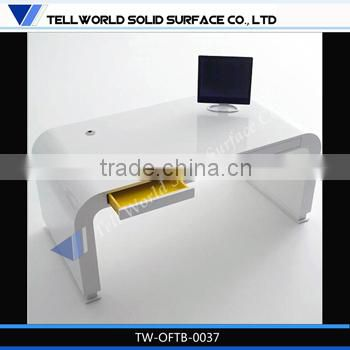 High gloss conference table microphone