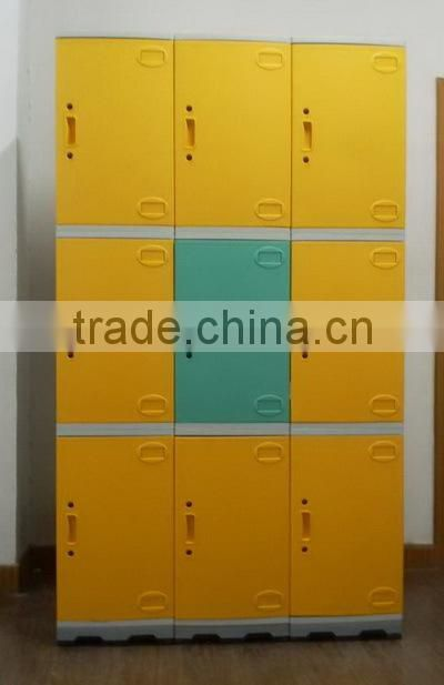 ABS plastic outdoor storage cabinet