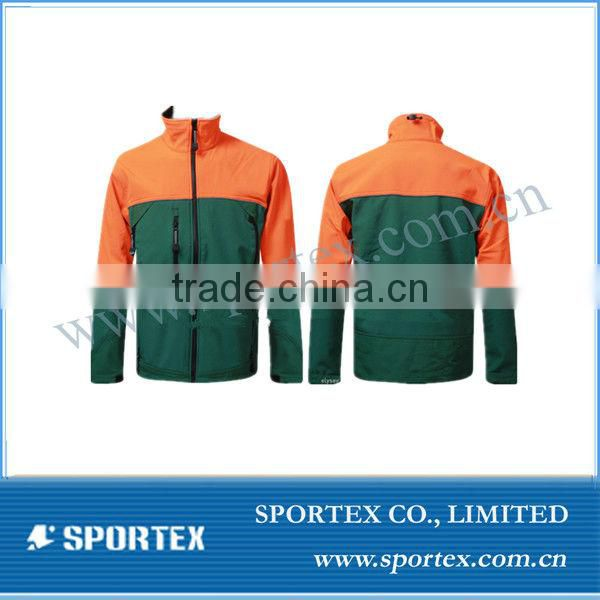 Reflective softshell jacket, Men's softshell sports jacket