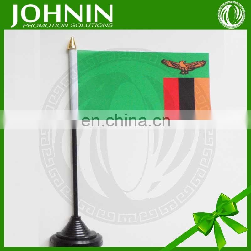 Indoor-used decorative stable stand table flags all countries