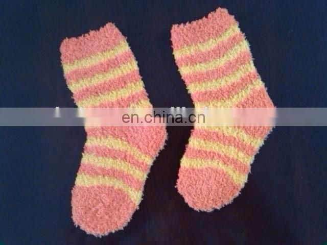 little teen sock with terry bottom