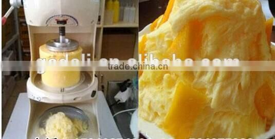 Hot selling shaved ice machine commercial, snowflake shaved ice machine, block freezer shaved ice