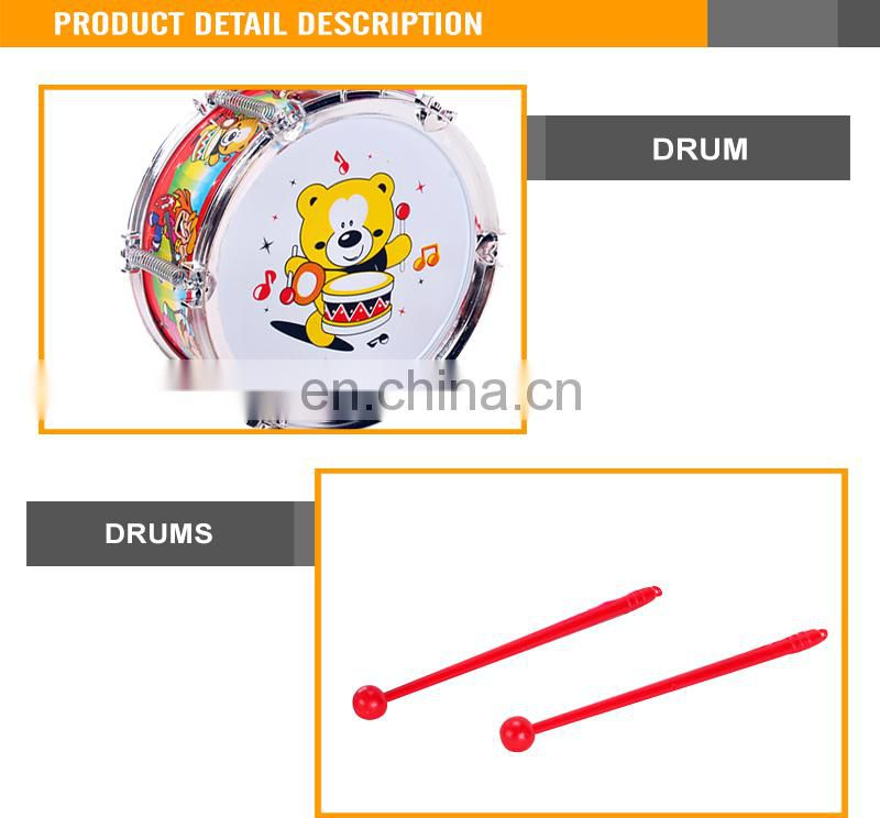 2015 Most Popular kids play drum set professional snare drum