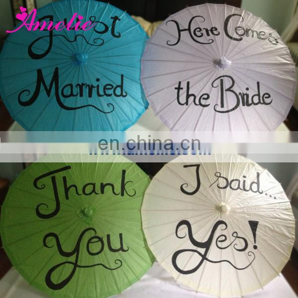 A6259 Personalized paper umbrella wedding themes