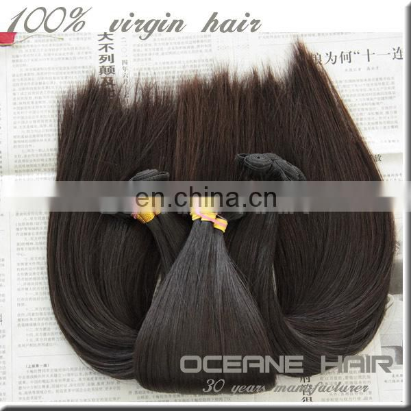 China wholesale high quality natural unprocessed virgin indian hair
