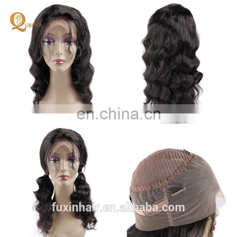 360 lace frontal wig Brazilian hair full lace human hair wig for black women