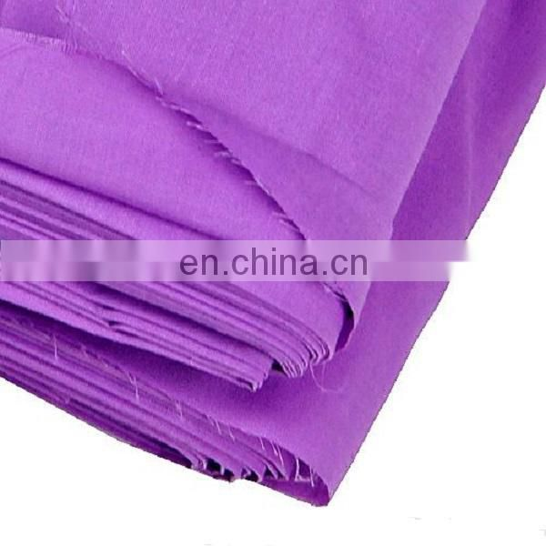 Bag interlining / pocketing fabric T/C 90/10 110X76 dyeing fabric