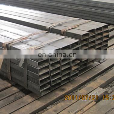 black mild rectangular hr square steel tube