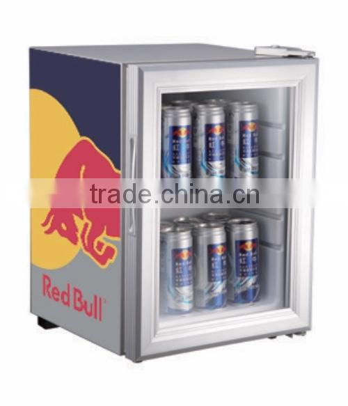 desk top beverage refrigerator display cooler factory price