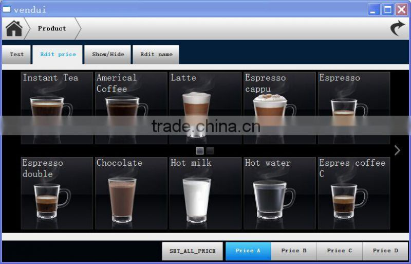 IN5C fully automatic coffee powder dispenser