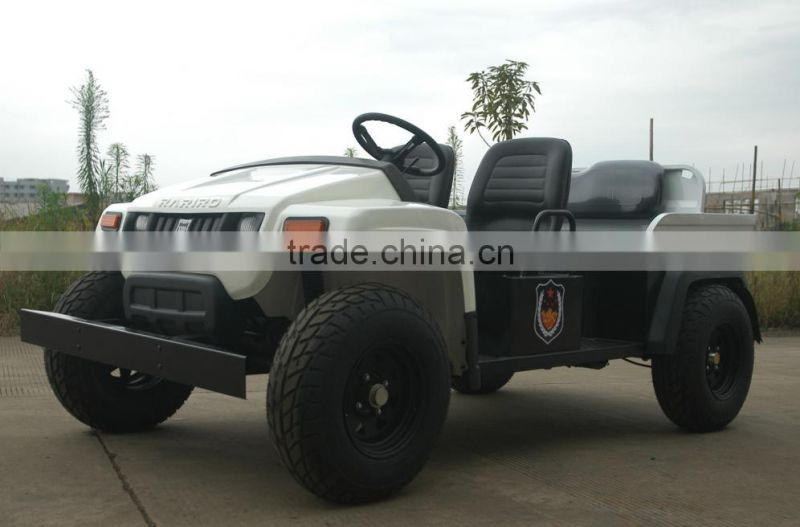 China brand strong power 4 seats electric golf cart type utility vehicle