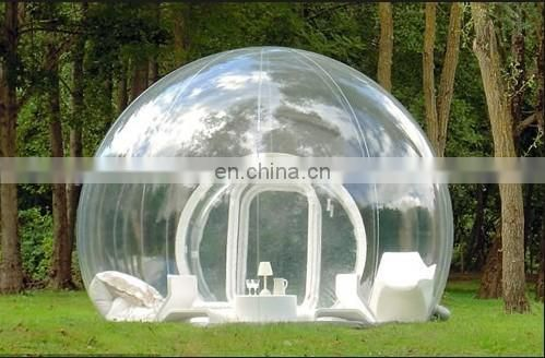 New romantic inflatable bubble camping tent,inflatable transparent tent