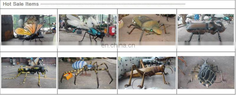 Life Size Simulation Insect Spider made of silicon rubber for sale