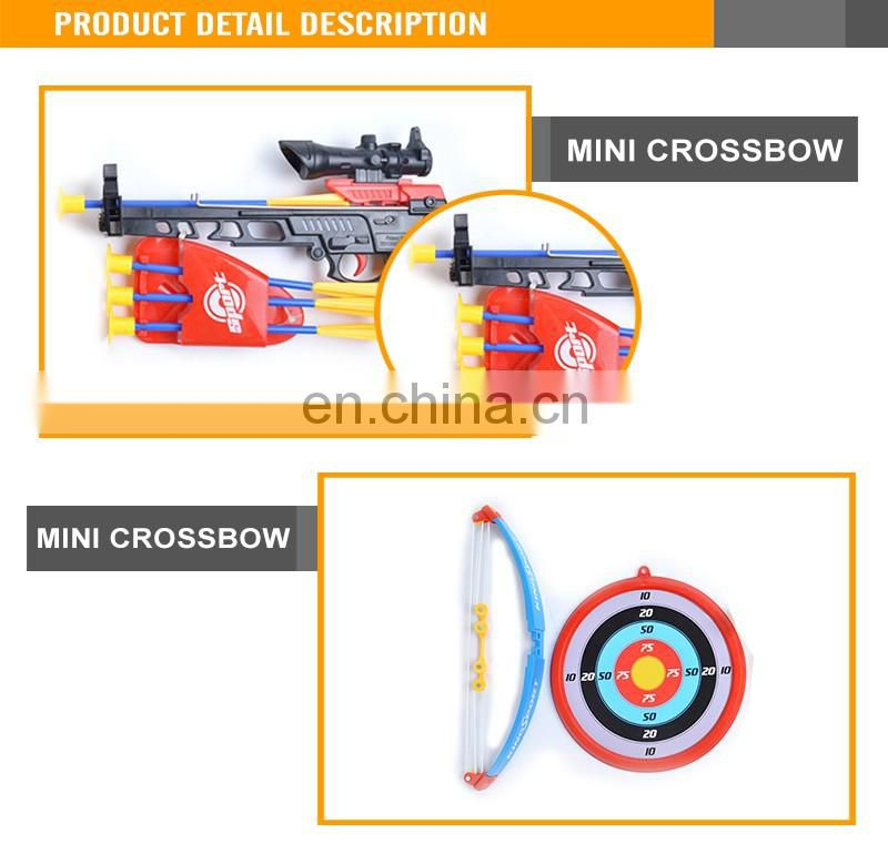 6+ boys mini crossbow plastic toy arrows