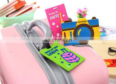 Hot sale promotional soft pvc luggage tag