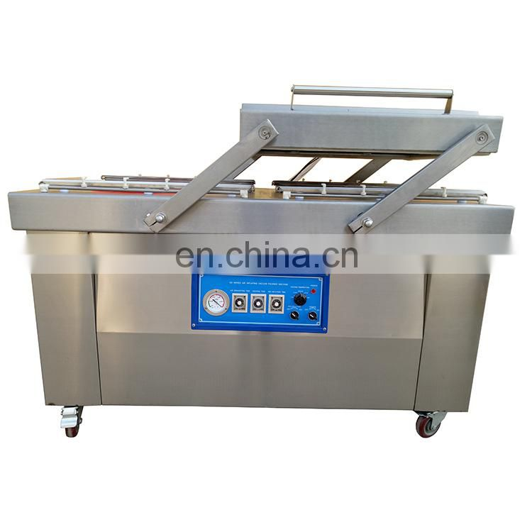 DZ-400 Automatic Double Chamber Food Vacuum Packaging Machine