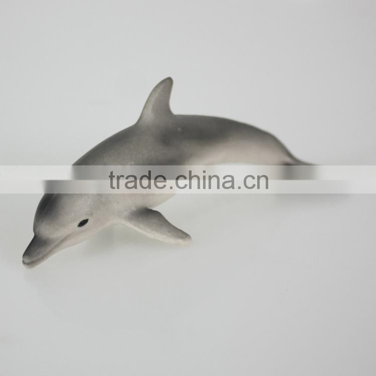 Factory handmade pvc dolphin toy with EN71