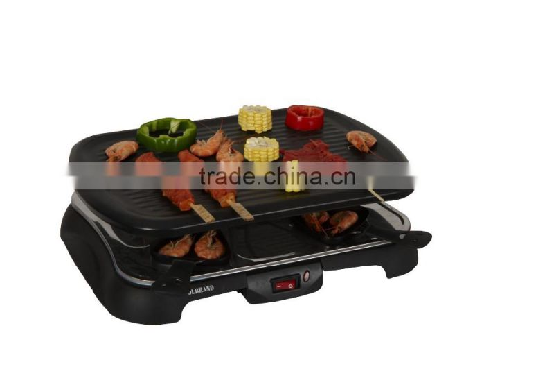 8-person electric grill