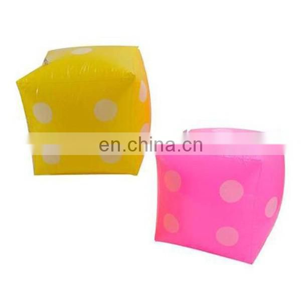 big inflatable dice pool toy party favours