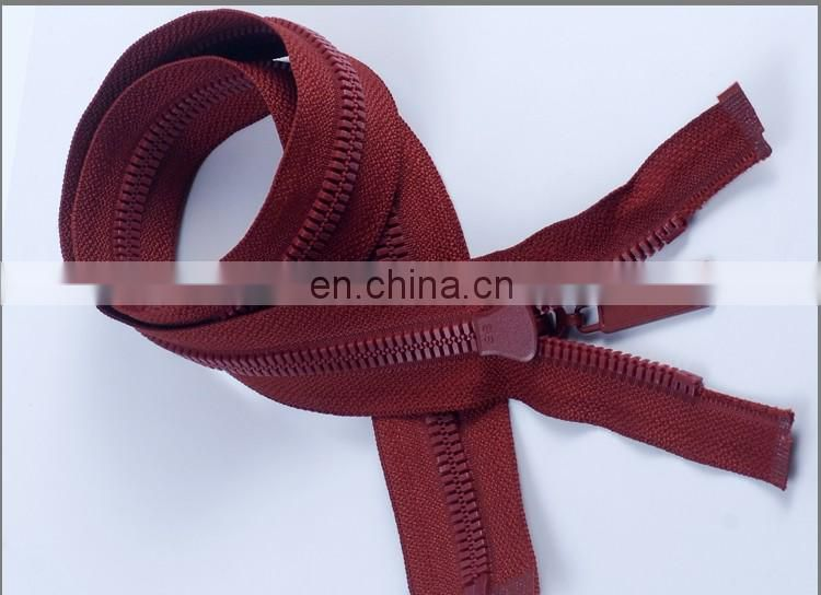 Molded Plastic Separating Jacket Zippers ZP30002