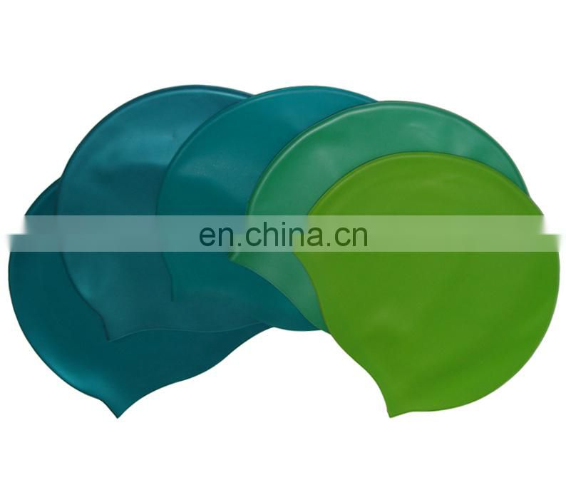 Children funny silicone swim cap
