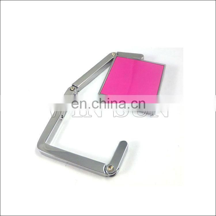 custom table garment bag hanger hook, compact mirror bag hanger