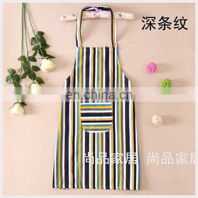 2015 new design customized cheap cotton cooking apron