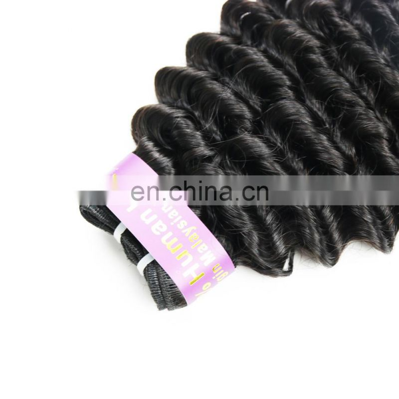 Fast shipping brazilian human virgin 9A grade hair weaving in deep curly wholesale price