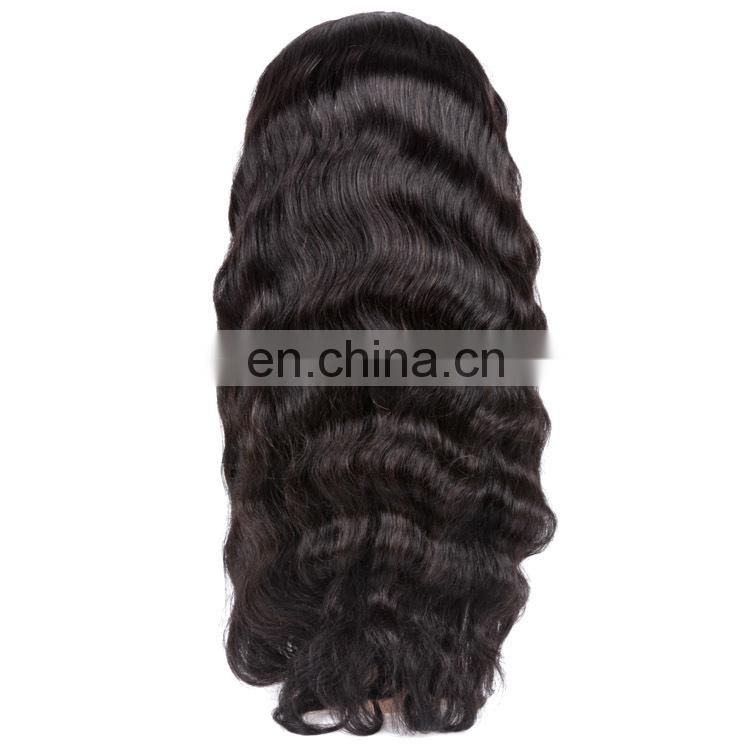 Virgin full lace wig brazilian body wave full lace wig