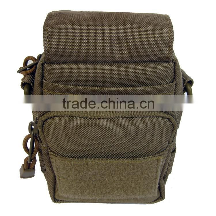 Camouflage molle tactical military cell phone sling bag