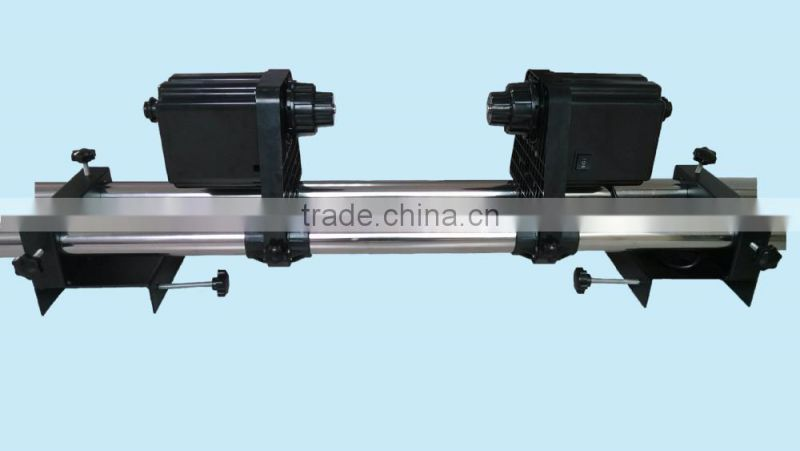 Automatic Media Take Up Reel H3-2 Two motors for Mutoh/ Mimaki/ Roland/ Epson Printer--220V