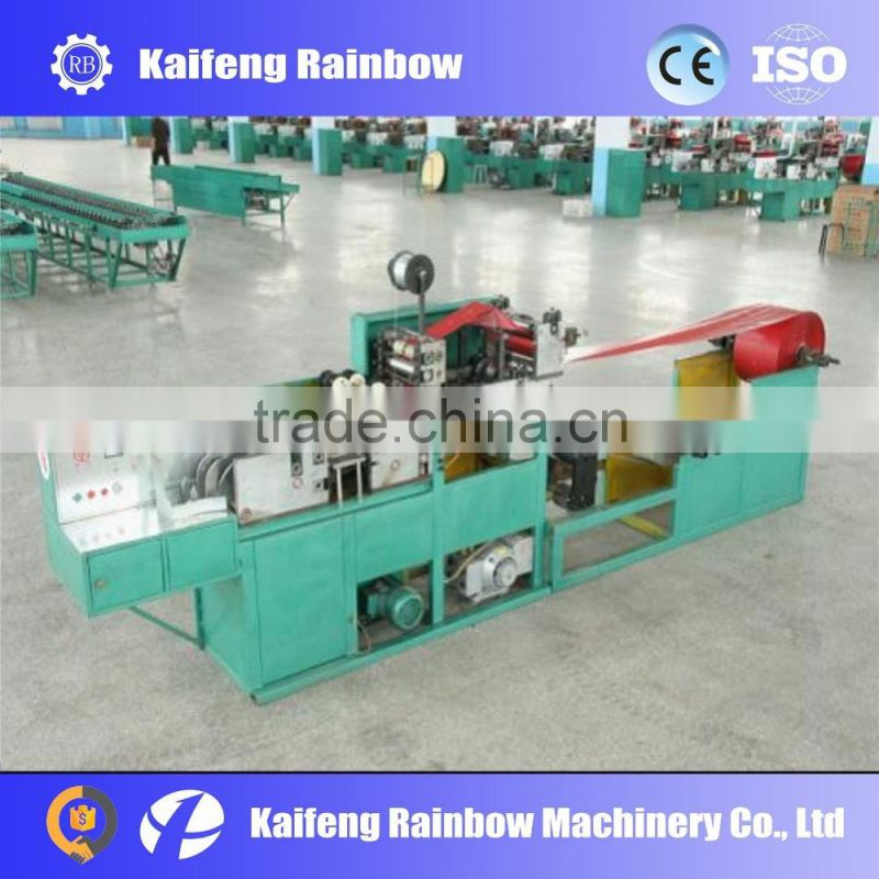 High speed automatic t-shirt bag production line/plastic bag making machine