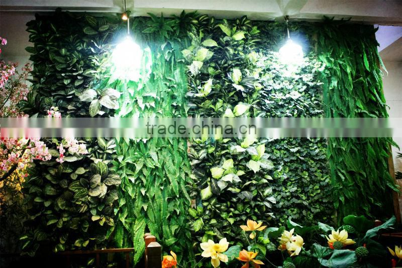 Artificial Company Logo plant wall [PW-104](special offer/bargain price:/ Factory price/outdoor & indoor / green / grass)