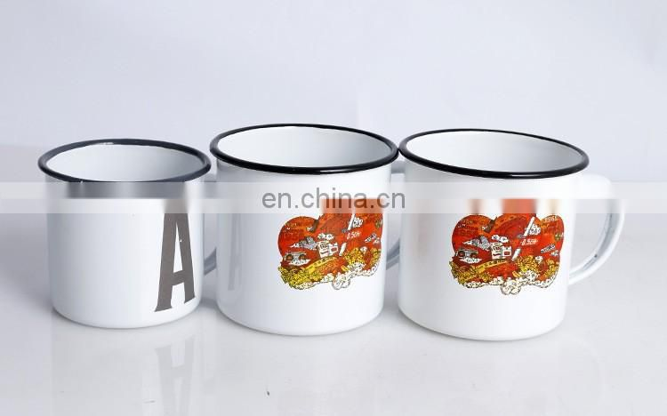 2016 Newest Colors Enamel Mug with Factory Manufacture Price for Pouplar Ceramic Mug Cup