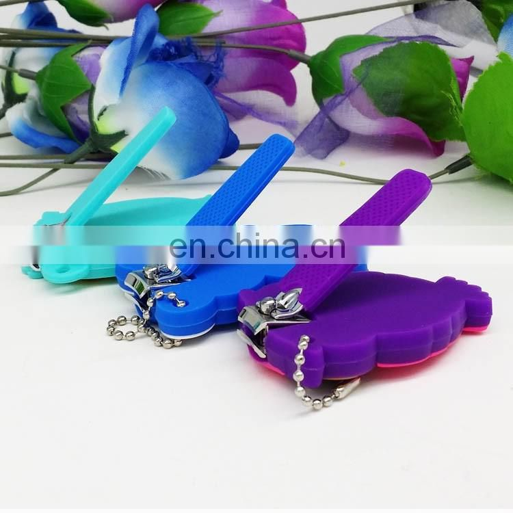 rubber cover silicone toe nail clipper