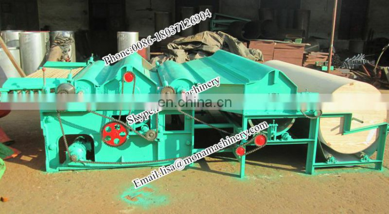 High Capacity Fabric Cotton Waste Recycling Machine Hot Sale