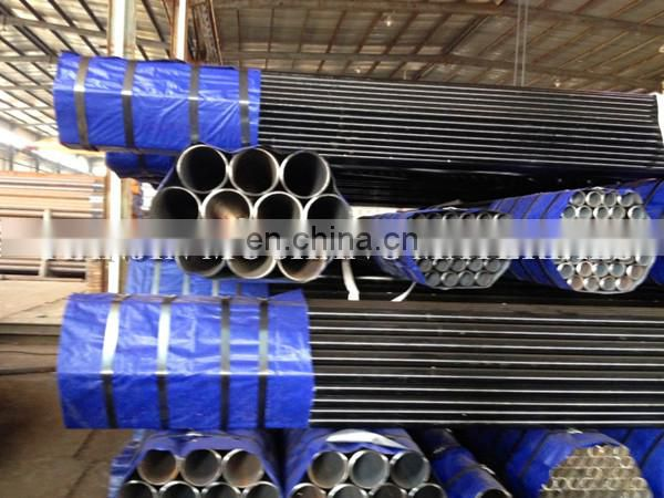 API beleved ends and black painted seamless steel pipes with good price