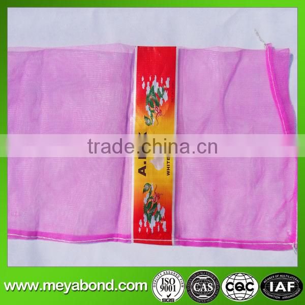 Virgin HDPE mesh bags, onion bags, potato bags, garlic bags for vegetabe plant