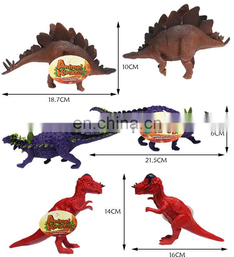 Kids educational discover gift diy dinosaur figurine world toy