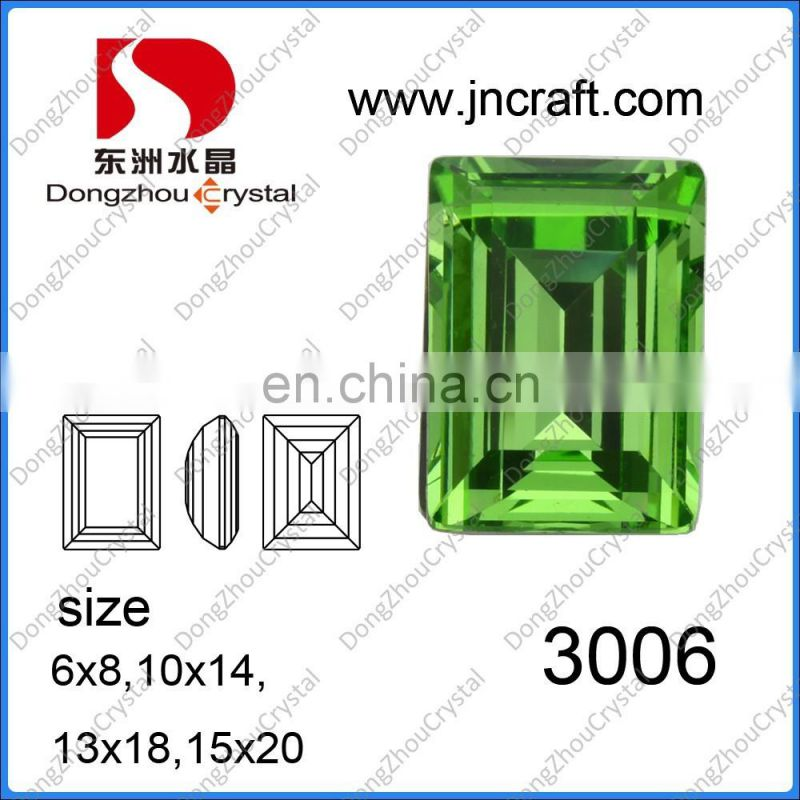 AB K9 Crystal Glass Stones Drop Shape Stones For Garment Decoration