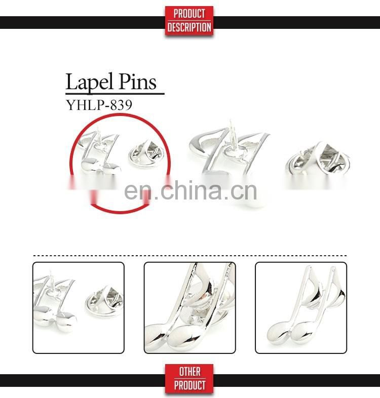 Number and letter lapel pins wholesale