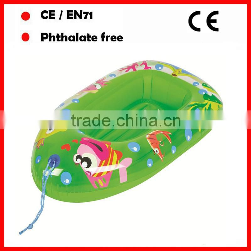 PVC custom inflatable baby pool float boats